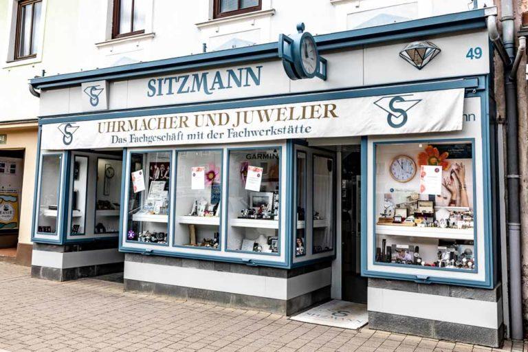 Uhrmacher und Juwelier Sitzmann Schmuckgeschäft